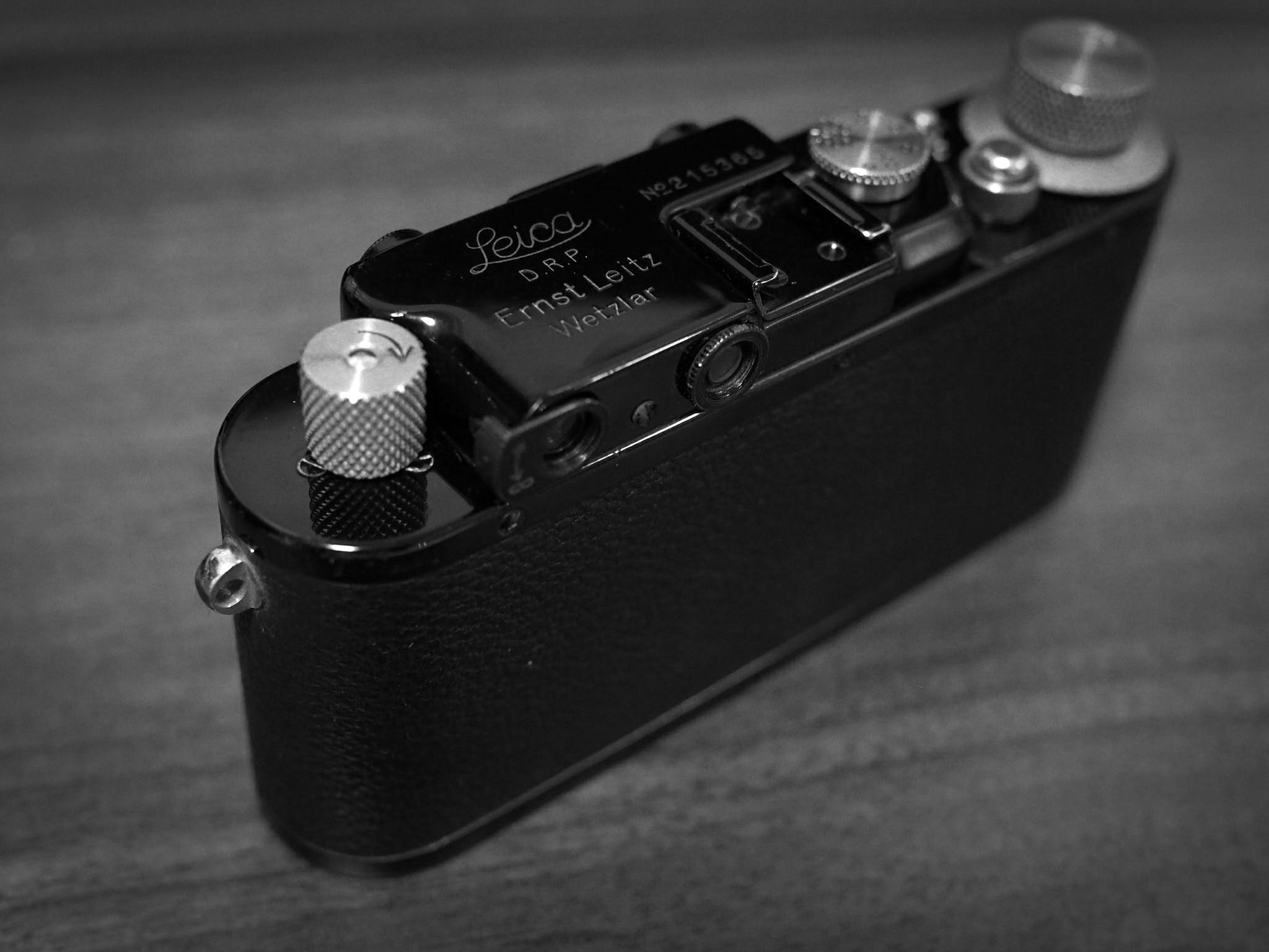 ブラックバルナックがやってきた【Leica DⅢ】