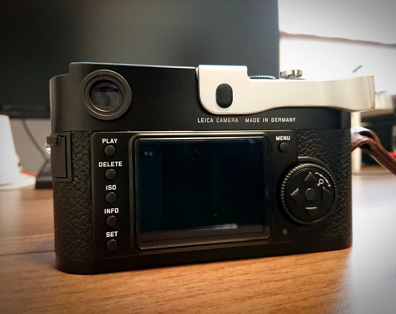 LeicaM9のホットシューカバーを探して【Thumbs Up EP-3S】