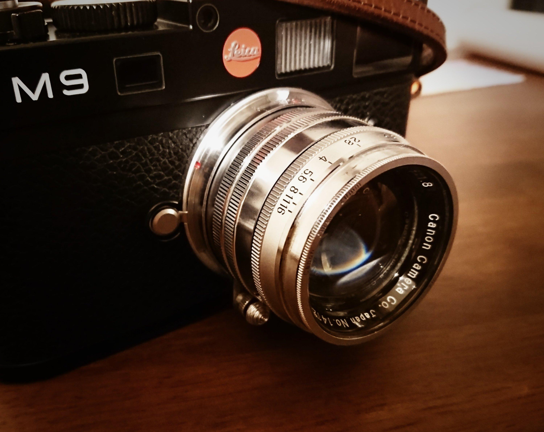 【Leica M9】Canon Serenar 50mm f1.8ってどんなレンズ?