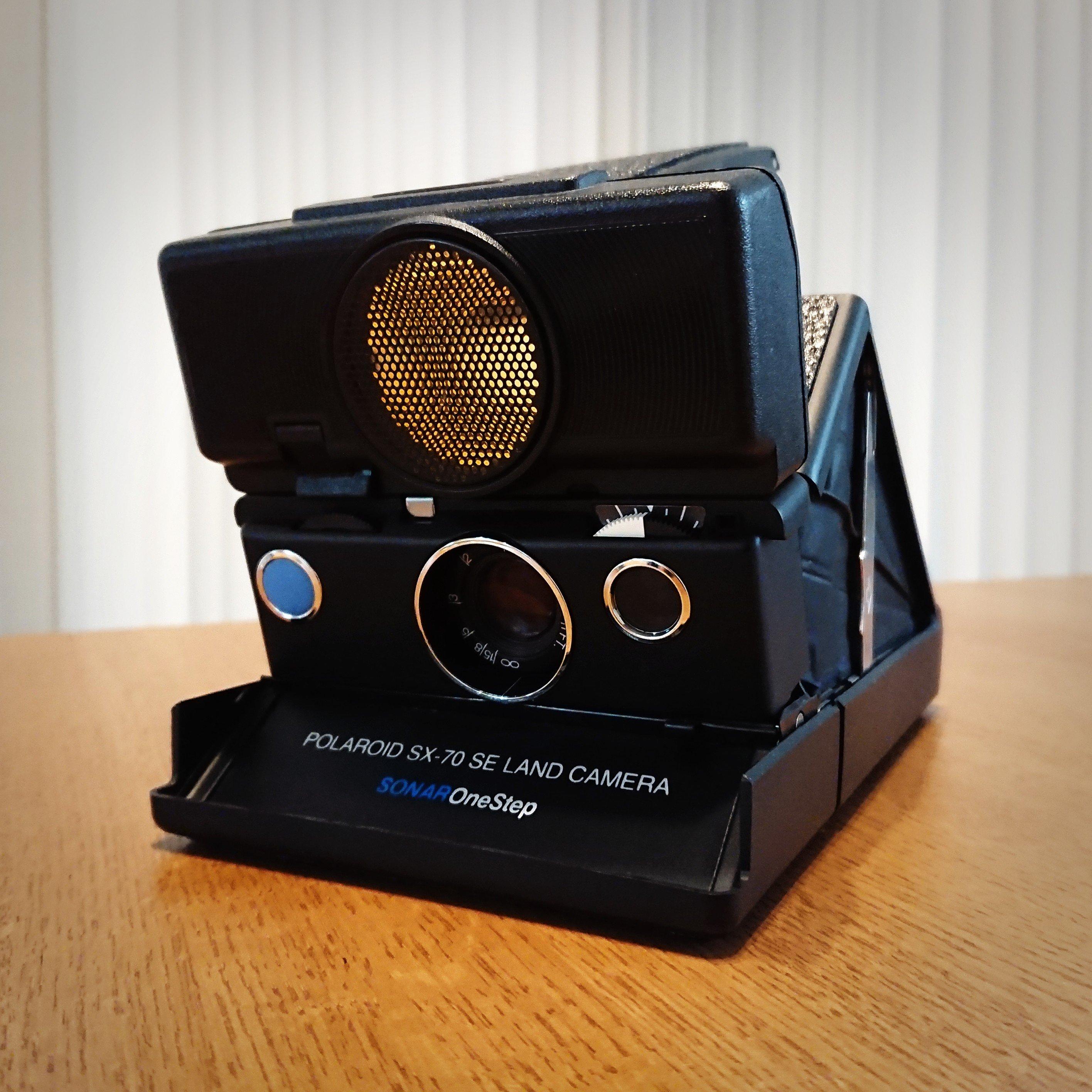 SX-70 SONARがやってきた【Polaroid】